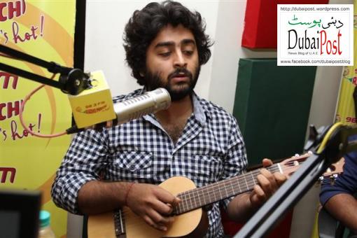 Arijit Singh in Dubai Arijit Singh Dubai 14-9-2013